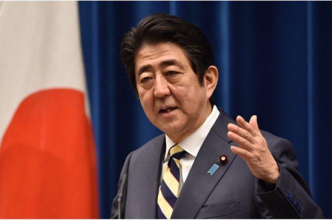 Japan PM Shinzo Abe urges talks for Russia peace treaty