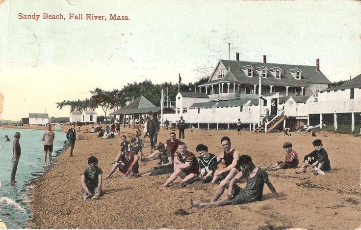 Sandy Beach, Fall River MA early 1900's