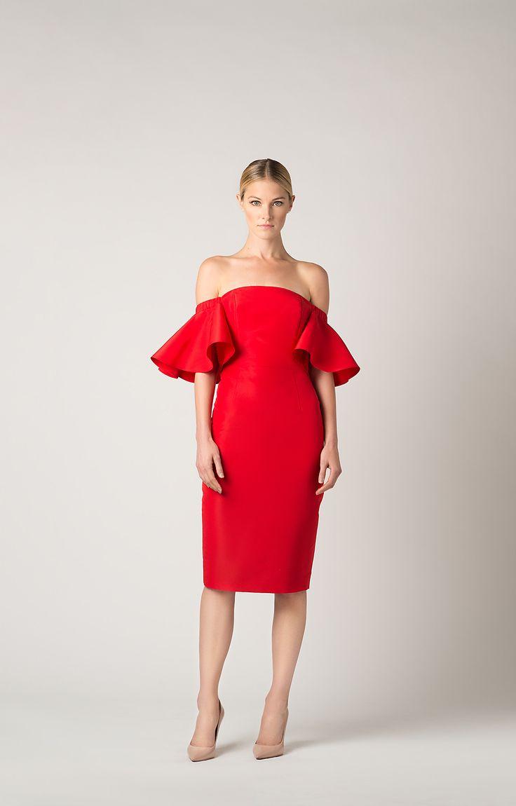 Best 20  Ruffle dress ideas on Pinterest | White dress shoes ...