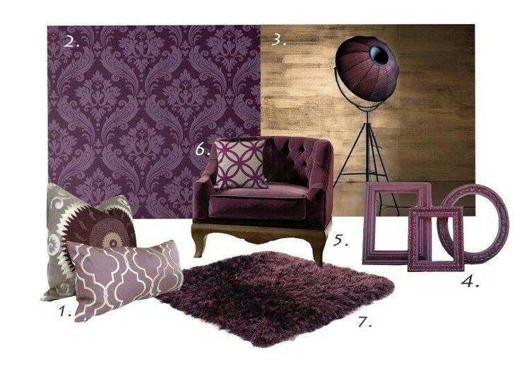 Essential Colour Aubergine L Essenziale Georgian Country Living Room