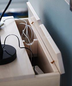 Mosquitos têm uma caixa onde você pode esconder os cabos