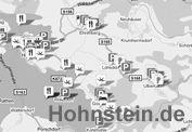 Radfahren - Hohnstein - Burgstadt am Fels : Sächsische Schweiz : Elbsandsteingebirge