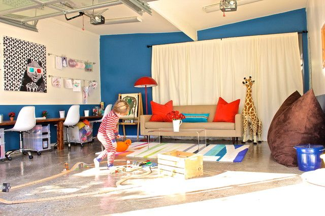 turn garage into playroom - Google Search
