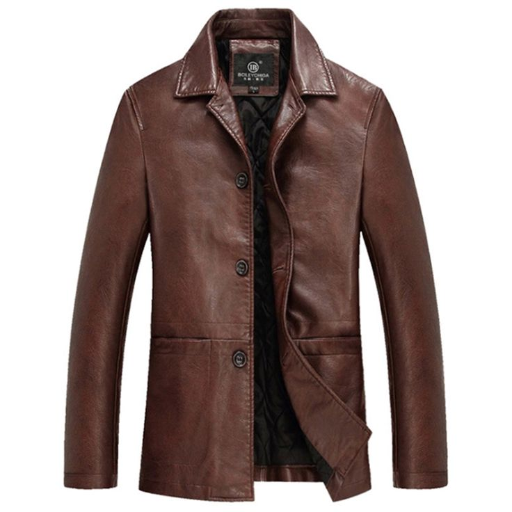 High Quality Thicker Winter Leather Jacket Men Mens Leather Jackets And Coats Veste Cuir Homme Chaqueta Cuero Hombre Deri Ceket