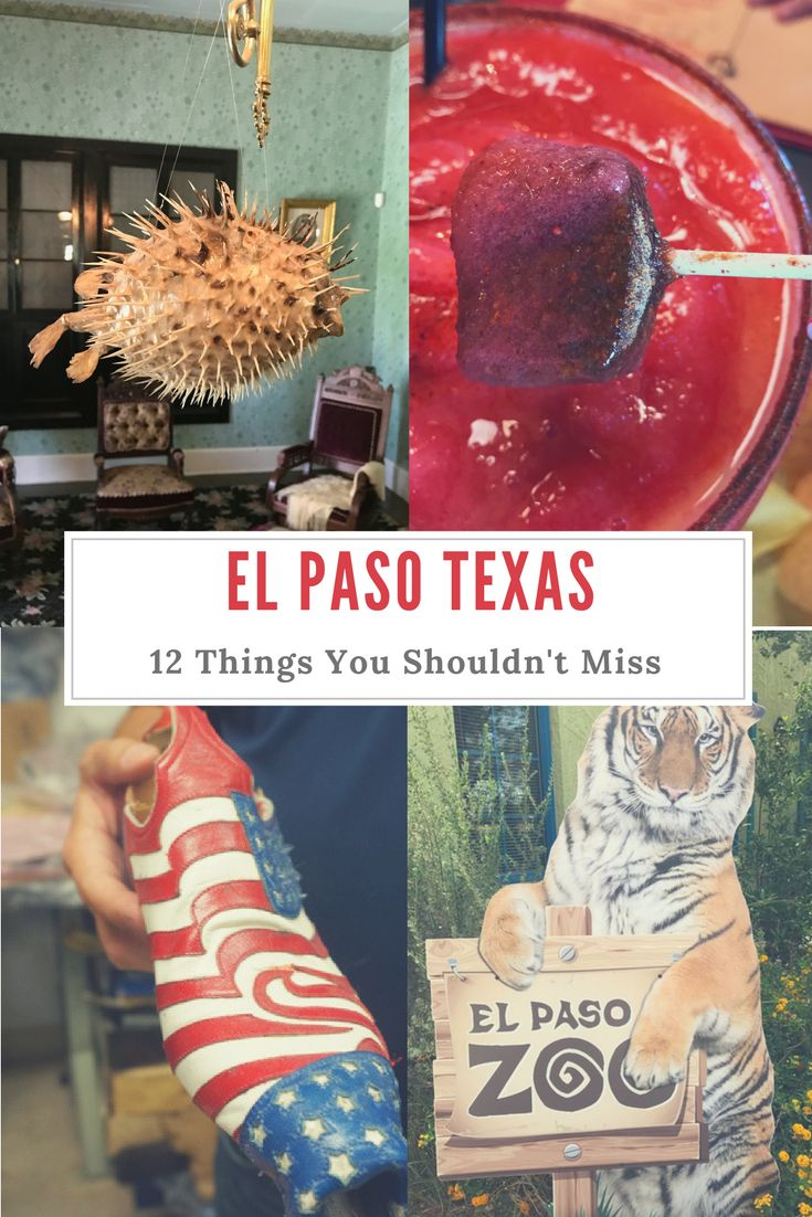 When Visiting El Paso Texas, there are some things you just have to see. There is a lot of history, but also amazing restaurants, theater, and so much more.
