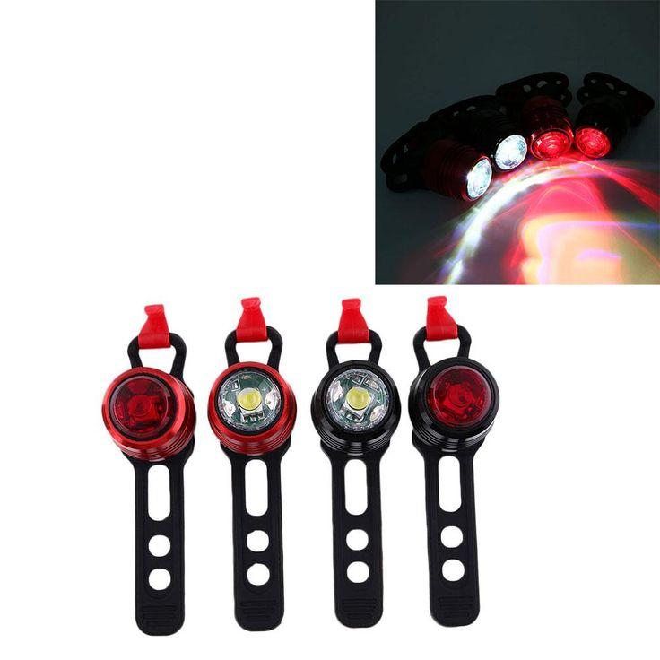 Cool USB Fahrrad Hinten Led r cklicht Modi Au en Bike Licht Ladeger t Lampe