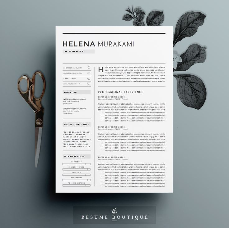 33 best Resume Template Designs images on Pinterest Resume - professional looking resume templates
