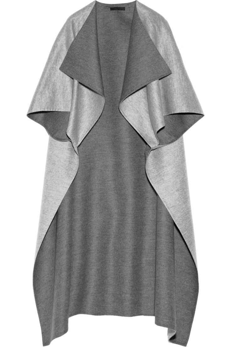 The Row | Noden two-tone wool cape