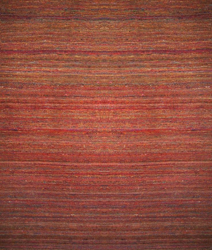 Sari - The Rug Store by HALI 200 x 300cm $792 Dhurrie Sari red/multi