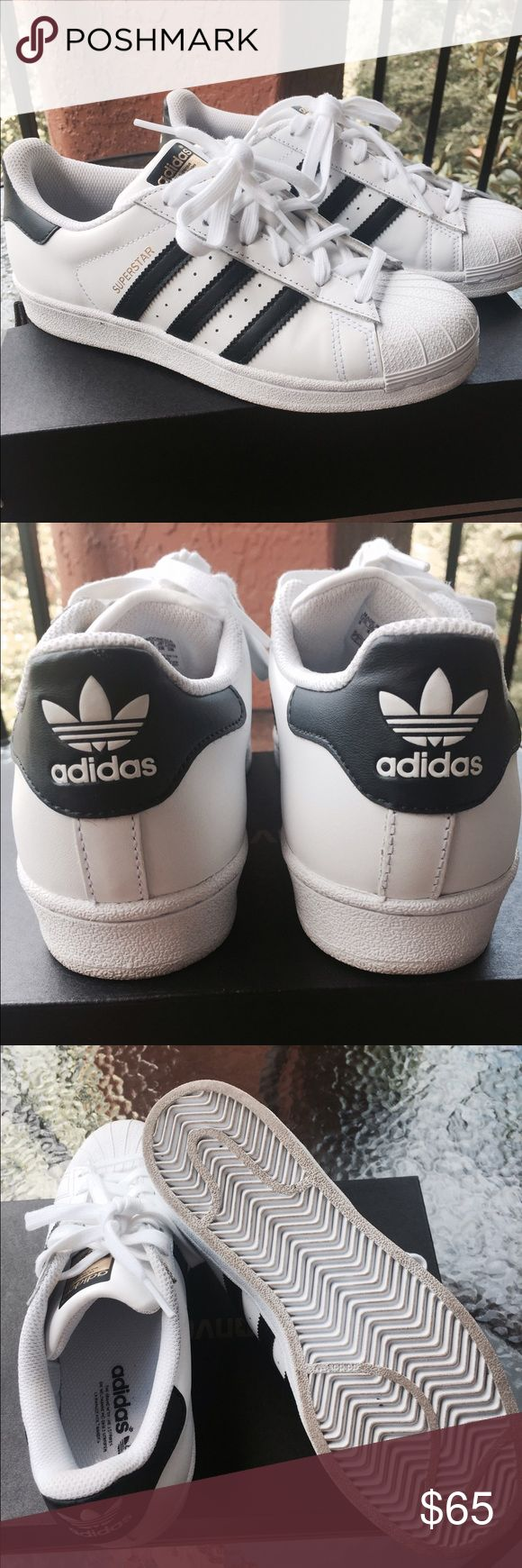 Selling this Adidas Superstar Sneakers on Poshmark! My username is: rpa25. #shopmycloset #poshmark #fashion #shopping #style #forsale #adidas #Shoes