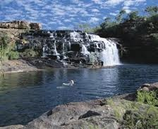 Manning Gorge, Gibb River Road, WA.  Camped, hiked and swam.