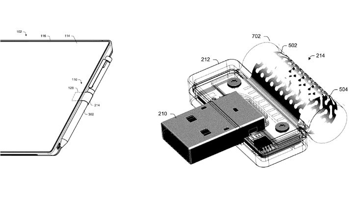 Microsoft patents improved Surface Pen loop with charging chops