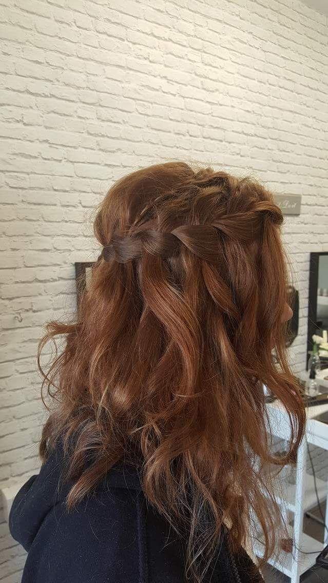 Best 25+ Waterfall braid prom ideas on Pinterest