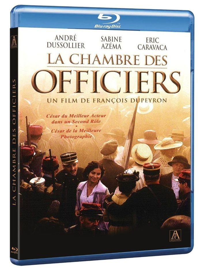 La Chambre des officiers - Blu-Ray 4K - BLU-RAY - NEUF