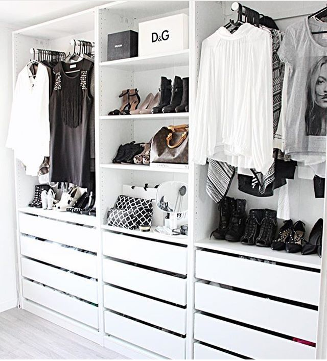 25 best ideas about wardrobe storage on pinterest ikea - Organisation dressing ...