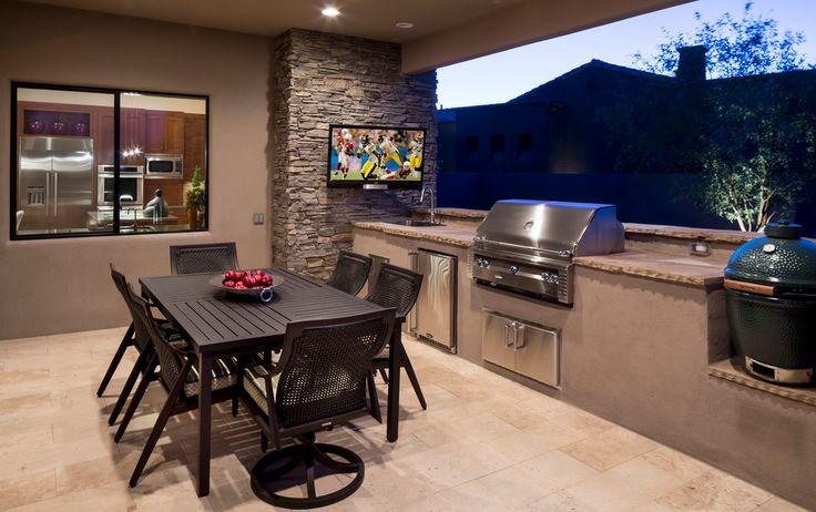 Amazing Backyard Bbq Design Ideas For Patio Contemporary