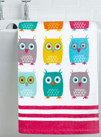 Best TOwls To Hoot About Images On Pinterest Bhs Home - Bhs monochrome word bath sheet bhs monochrome word hand towel