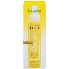 John Frieda Sheer Blonde Go Blonder Controlled Lightening Spray, 3.5 Ounce, (highlights, john frieda, hair dye, leave in, leave-in, sun-in, crossdress, glaze, hair care)