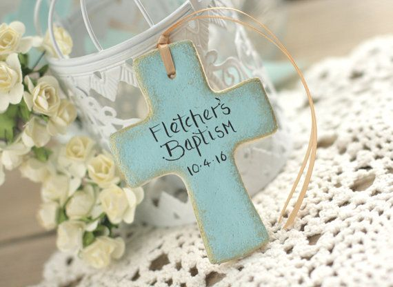Set of 6 Cross Baptism favors 1st Communion favors by BRsaltycandy