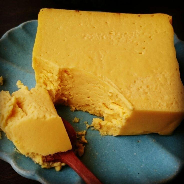 テリーヌ風かぼちゃチーズケーキ