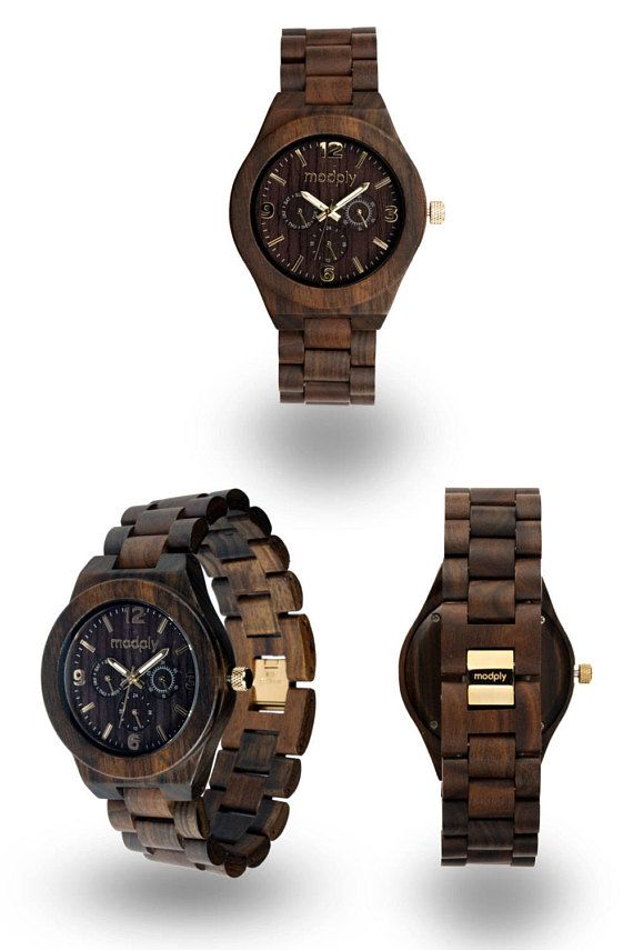 Mens Wooden Watch Man personalize Wooden Watch for Him Gift