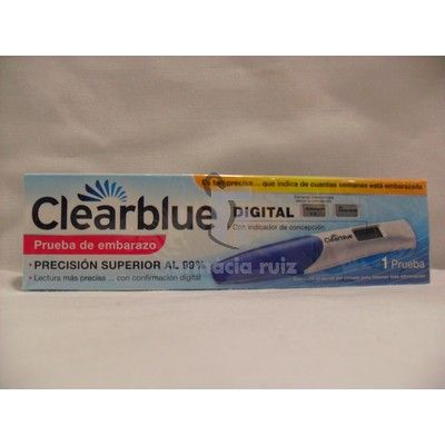 Test Embarazo : Clearblue Test Embarazo Digital :: Farmacia Club ... .