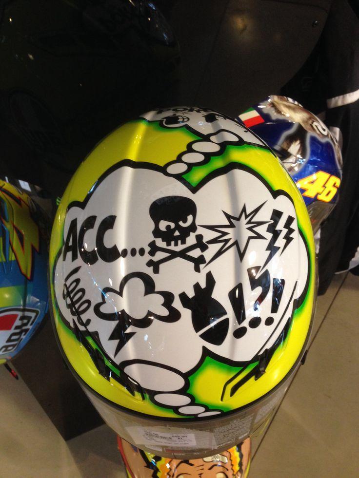 AGV Gp Tech Special Edition Misano www.valerisport.it #vr46 #valentinorossi #helmet
