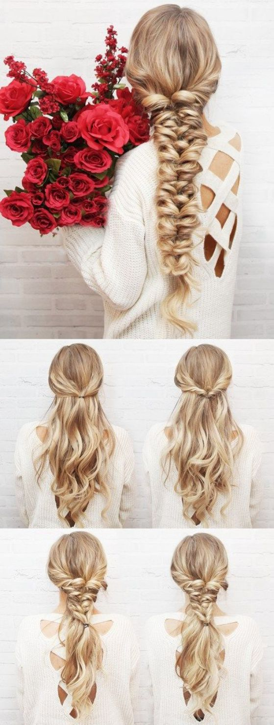 Las 25 mejores ideas sobre cortes de pelo largo en pinterest y m s pelo peinados para pelo - Peinados para hacerse una misma ...