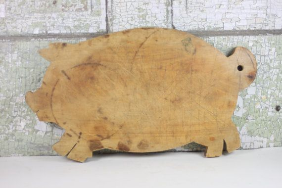 Wooden Pig Cutting Board Woodworking Projects Amp Plans