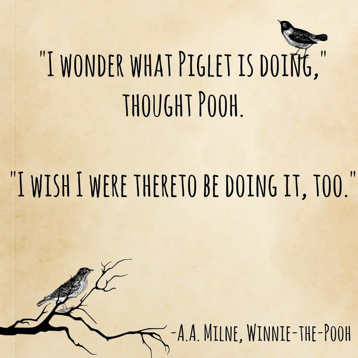 awwwww! Winnie-The-Pooh, A.A. Milne   15 Book Quotes That Perfectly Describe Friendship