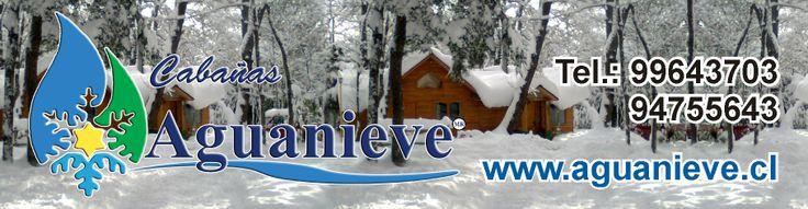 Cabañas Aguanieve Equipadas a full a 10 minutos del centro Termal y Ski Nevados de Chillan ,En Valle Las Trancas a orilla de Camino pavimentado