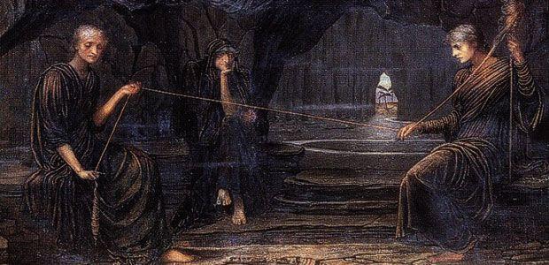 """«Η Μοίρα και η Τύχη στον αρχαιοελληνικό κόσμο» της Ελένης Λαδιά """"Είναι μία από τις πιο πικρές και σκληρές σκέψεις του Πλάτωνος να εκλέγει ο άνθρωπος τον δαίμονά του. Ο θνητός μένει τελείως απροστάτευτος μπροστά σε έναν αναίτιο θεό και σε μια αρετή που είναι αδέσποτο κτήμα, παίρνοντας έτσι όλη την ευθύνη στους αδύναμους ώμους του. Η δύναμη της Μοίρας λιγοστεύει, βεβαίως, αλλά και η ελευθέρα βούληση του ανθρώπου χρυσοπληρώνεται"""". #Ελένη_Λαδιά #Μοίρα"""