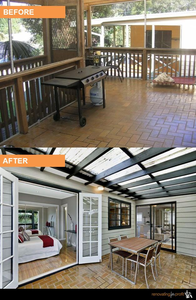 #Deck #Verandah #Renovation See more exciting projects at: www.renovatingforprofit.com.au
