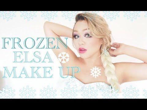 Frozen Elsa makeup エルサメイク - YouTube