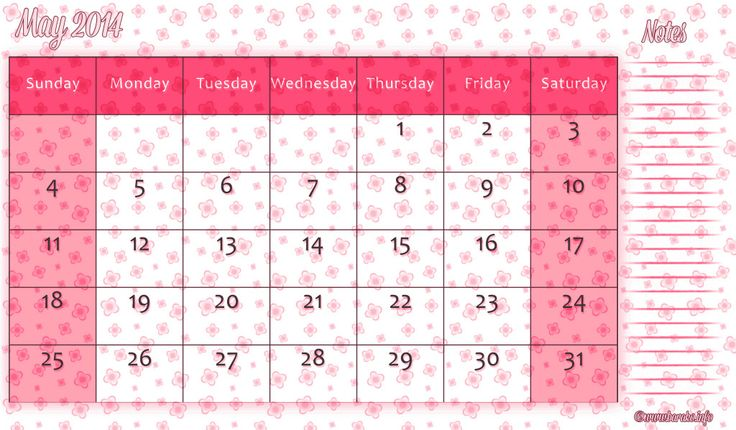 23 Best Calendar Template Images On Pinterest Free Printable Free