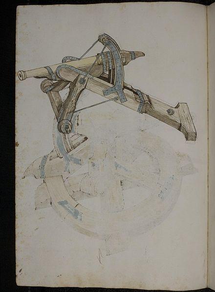 Philipp Mönch, Kriegsbuch. Papier, 44 Bl., 41x28,5 cm, Heidelberg 1496. Cod. Pal. germ. 126, Universtiätsbibliothek Heidelberg http://digi.ub.uni-heidelberg.de/diglit/cpg126