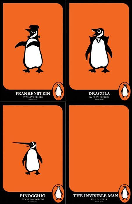@Penguin Books Classic Horror Covers