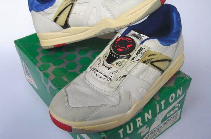 En 1991, Puma inventait les Puma Disc, premières chaussures de ...