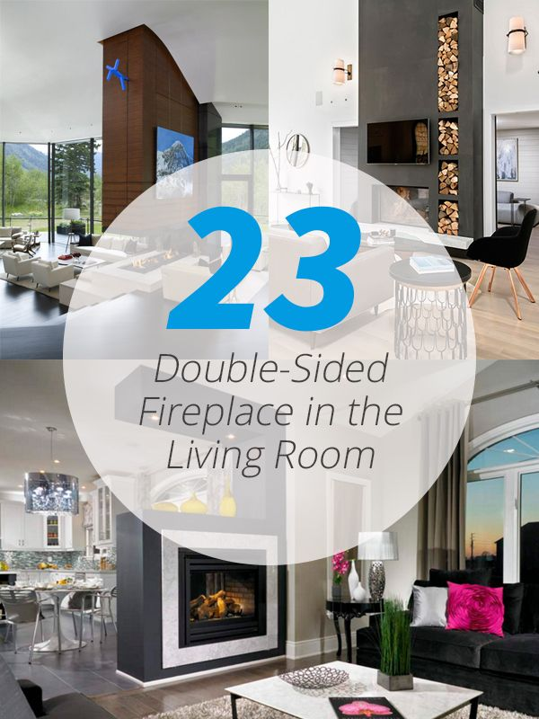 23 Double Sided Fireplace Designs In The Living Room Home Fireplace Living Rooms And The O 39 Jays