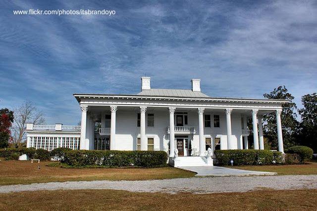 Badham House casa sureña norteamericana en Carolina del sur