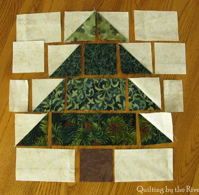 * Sew we Stitch: Comfort and JOY with Connie and her Christmas Tree Table Runner…