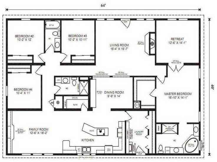 Best 25+ Modular Home Floor Plans Ideas On Pinterest | Modular