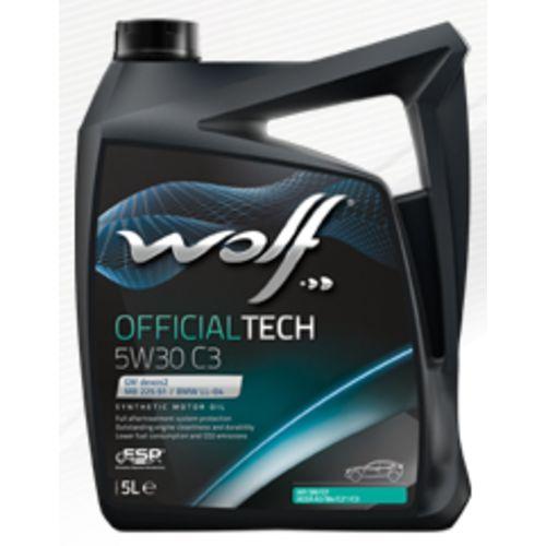 Wolf - Bidon 5 litres d'huile moteur 5W30 C3-10