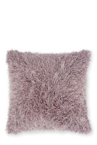 Buy Mauve Shimmer Twist Cushion from the Next UK online shop
