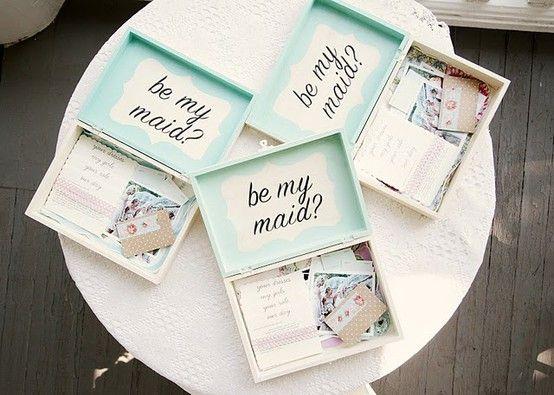 Creative Ways to Ask Your Bridesmaids!