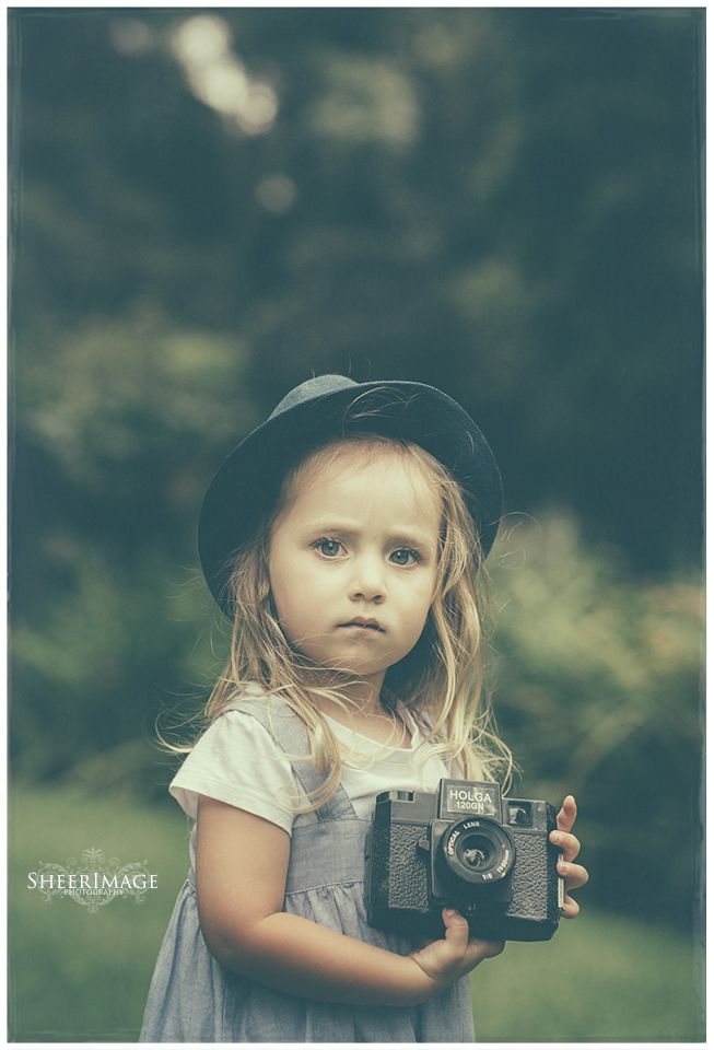 little photographer in the making