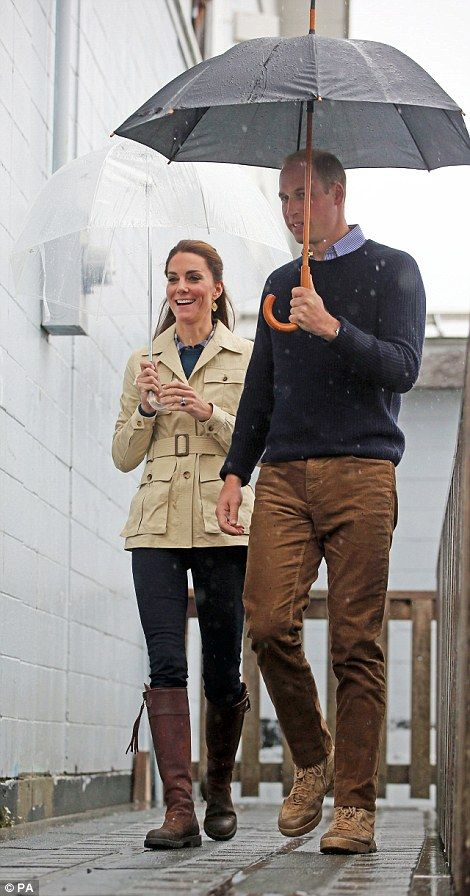 atherine, Duchess of Cambridge and Prince William, Duke of Cambridge arrive for a visit to first nations Community members for an Official welcome performance on September 25, 2016 in Bella Bella, Canada.