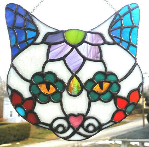 278 best STAINED GLASS & SUNCATCHERS images on Pinterest ...