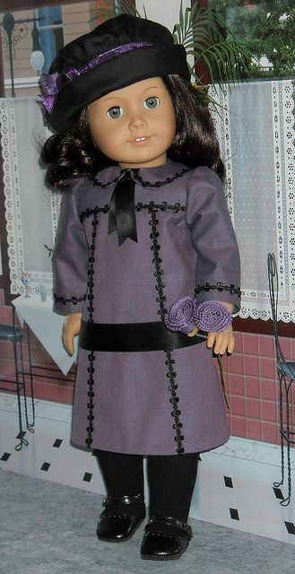Rebecca purple 1 by Sugarloaf Doll Clothes, via Flickr