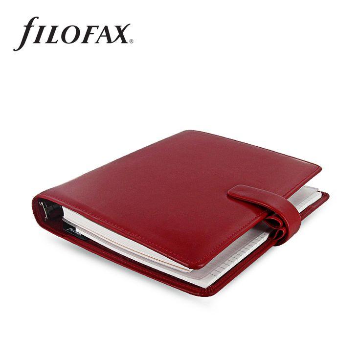 Filofax gyűrűs kalendárium Metropol A5 Piros   Filofax Gyűrűs Kalendáriumok